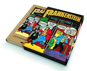 Roy Thomas Presents Dick Briefers Frankenstein Vol 5 1948 HC Slipcase Edition