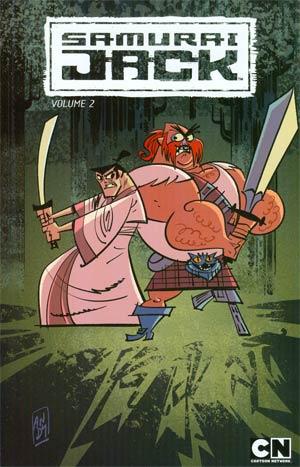 Samurai Jack Vol 2 Scotsmans Curse TP