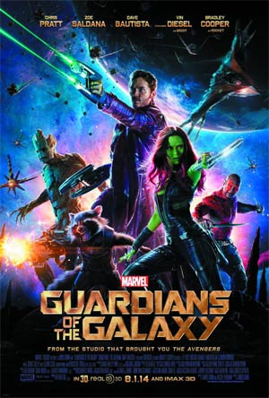 Guardians Of The Galaxy 3D Blu-ray Combo DVD