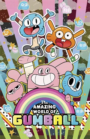 Amazing World Of Gumball #1 Cover F Denver Con Exclusive Tyson Hesse Variant Cover
