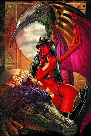Purgatori Vol 3 #1 Cover L Rare Joyce Chin Virgin Cover