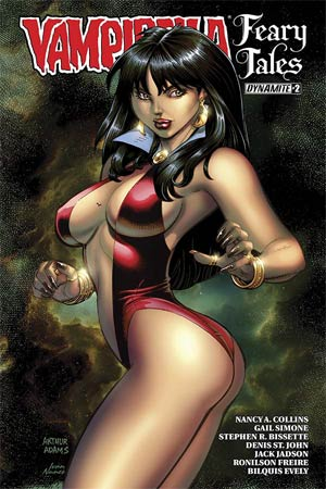 Vampirella Feary Tales #2 Cover B Variant Arthur Adams Cover