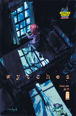 Wytches #1 Cover B Midtown Exclusive Sean Gordon Murphy Variant Cover