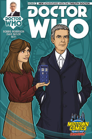 Doctor Who 12th Doctor #1 Cover B Midtown Exclusive Karen Hallion Variant Cover
