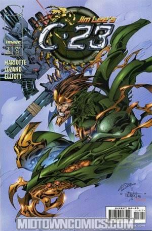 C-23 #8 Cover B Variant Alexander Lozano Cover