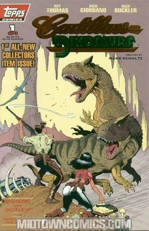 Cadillacs And Dinosaurs Vol 2 #1 Collectors Edition