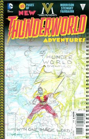 Multiversity Thunderworld Adventures #1 Cover E Incentive Grant Morrison Variant Cover