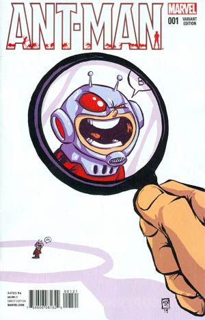 Ant-Man #1 Cover B Variant Skottie Young Baby Cover
