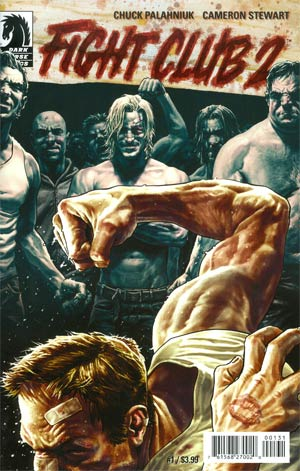 Fight Club 2 #1 Cover C Variant Lee Bermejo Ultra-Rare Cover