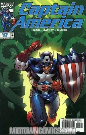Captain America Vol 3 #4