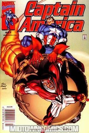 Captain America Vol 3 #27