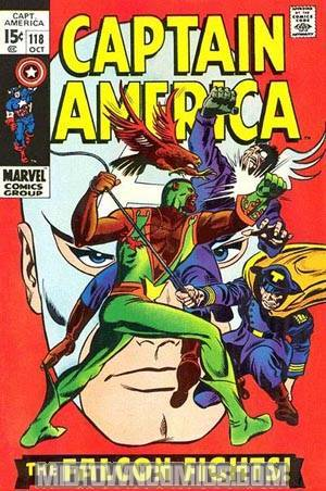 Captain America Vol 1 #118