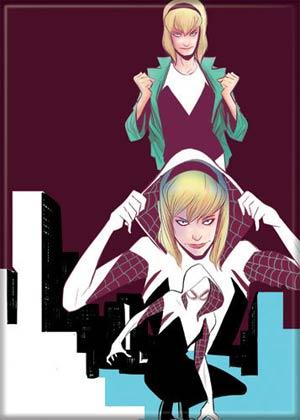 Marvel Comics 2.5x3.5-Inch Magnet - Spider-Gwen Edge Of Spider-Verse (71588MV)