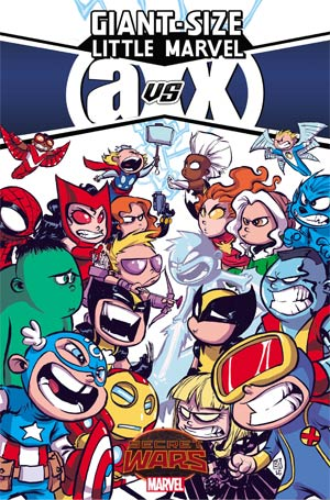 Giant-Size Little Marvel AvX #1 By Skottie Young Poster