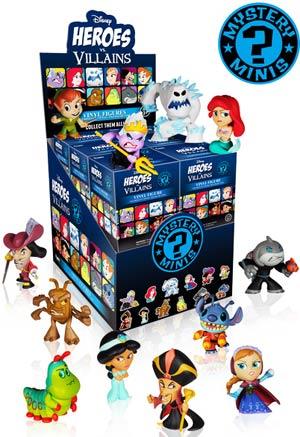 Disney Heroes vs Villains Mystery Minis Blind Mystery Box