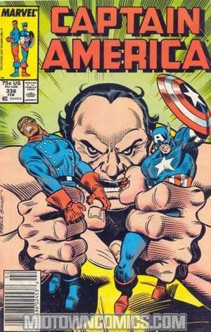 Captain America Vol 1 #338