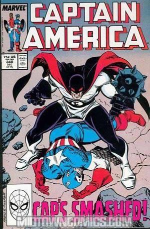 Captain America Vol 1 #348