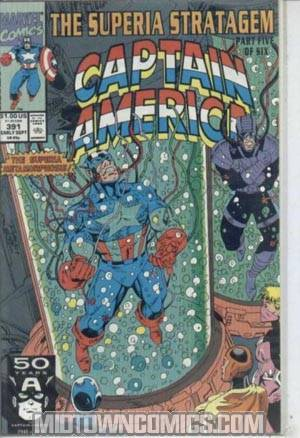 Captain America Vol 1 #391