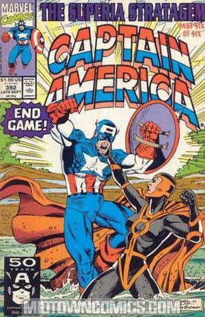 Captain America Vol 1 #392