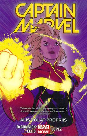 Captain Marvel (2014) Vol 3 Alis Volat Propriis TP