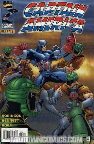 Captain America Vol 2 #9