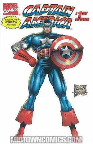 Captain America Vol 2 #1 Exclusive Comicon Ed.