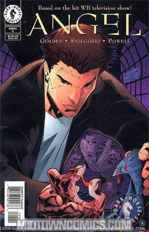 Angel #8 Cover A Regular Cover