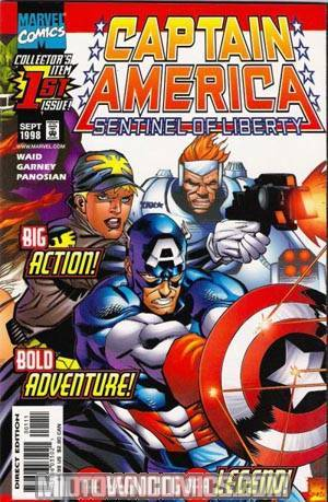 Captain America Sentinel Of Liberty #1