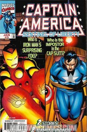 Captain America Sentinel Of Liberty #5