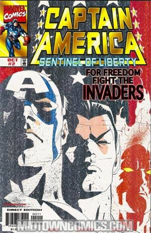 Captain America Sentinel Of Liberty #2 Cvr A