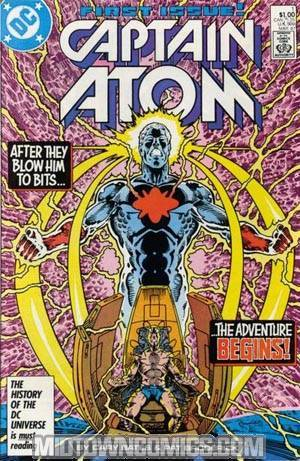 Captain Atom Vol 2 #1