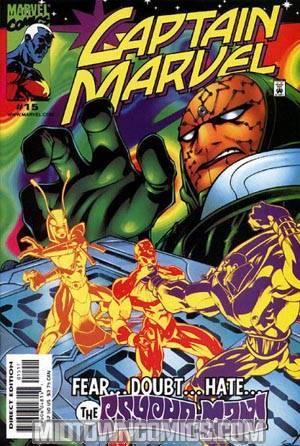 Captain Marvel Vol 3 #15