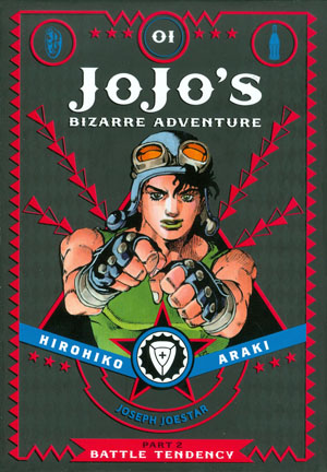 JoJos Bizarre Adventure Part 2 Battle Tendency Vol 1 HC