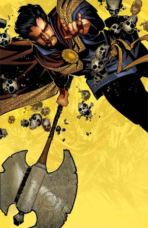 Doctor Strange Vol 4 #1 By Chris Bachalo Poster