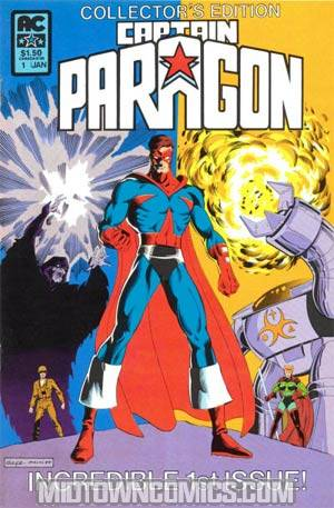 Captain Paragon #1