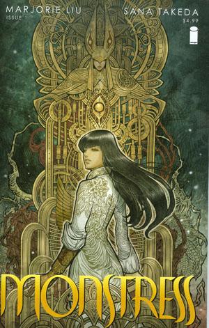 Monstress #1 Cover A 1st Ptg Regular Sana Takeda Cover