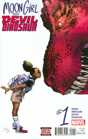 Moon Girl And Devil Dinosaur #1 Cover A Regular Amy Reeder Cover