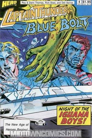 Captain Thunder And Blue Bolt #4