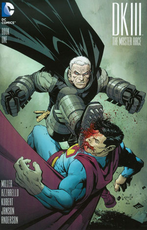 Dark Knight III The Master Race #1 Cover B Midtown Exclusive Greg Capullo Color Variant Cover