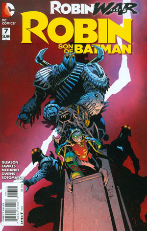 Robin Son Of Batman #7 (Robin War Part 5)