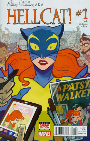 Patsy Walker AKA Hellcat #1 Cover A Regular Brittney Williams Cover