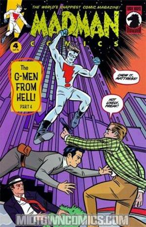 Madman Comics The G-Men From Hell #4