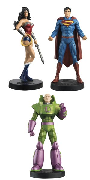 DC Masterpiece Figurine Collection Magazine #3 Justice League Set 1