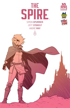 Spire #1 Cover E Midtown Exclusive Jamie McKelvie NYCC 2015 Variant Cover