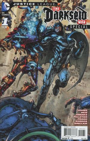 Justice League Darkseid War Special #1 Cover C Variant Kim Jung Gi Batman Triptych Cover