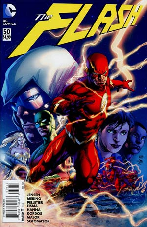 Flash Vol 4 #50 Cover A Regular Ivan Reis Cover
