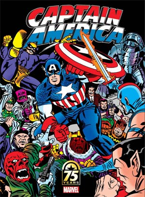Captain America 75th Anniversary Magazine #1 Cover C Variant Jack Kirby Cover