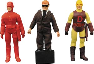 Marvel Retro Cloth Daredevil 8-Inch Action Figure Gift Set