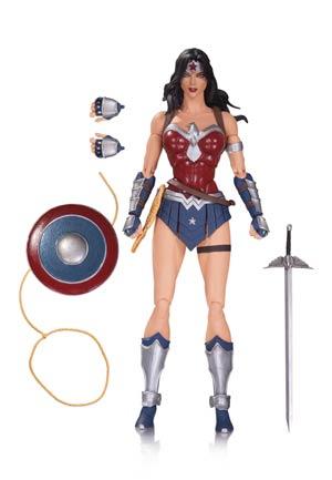 DC Comics Icons 19 Wonder Woman Justice League The Amazo Virus Action Figure