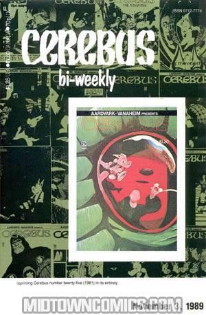 Cerebus Bi-Weekly #25